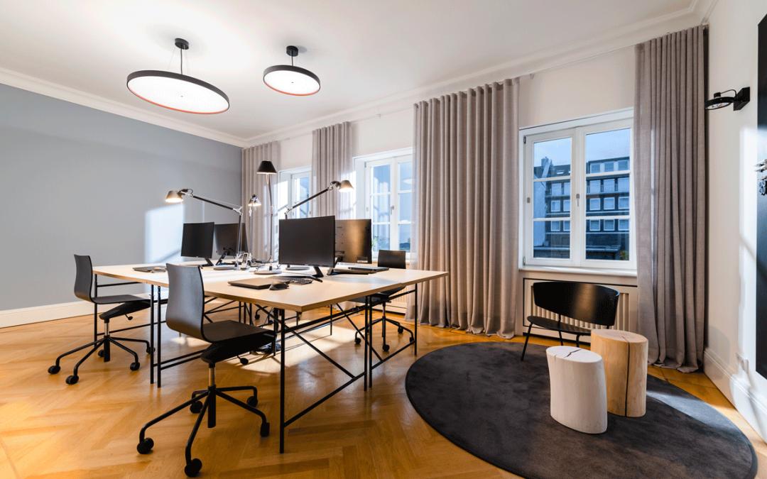 corporate identity & design im office interior